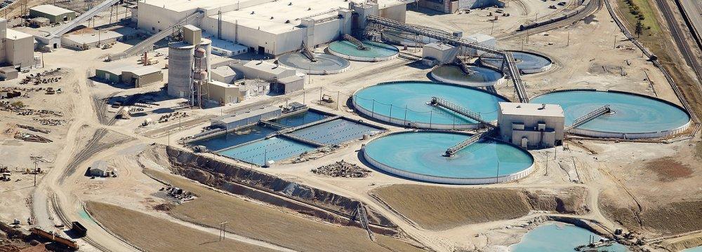 Per capita water use in Iran is 204 l/d.