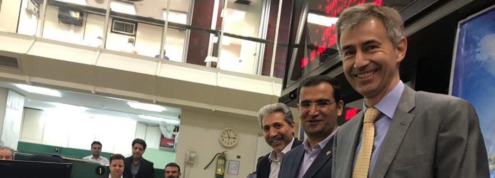 Swiss Ambassador Visits Tehran Bourse