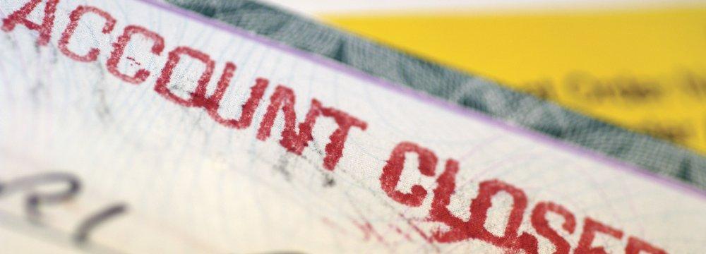 Iranian Bank Account Closures Not New