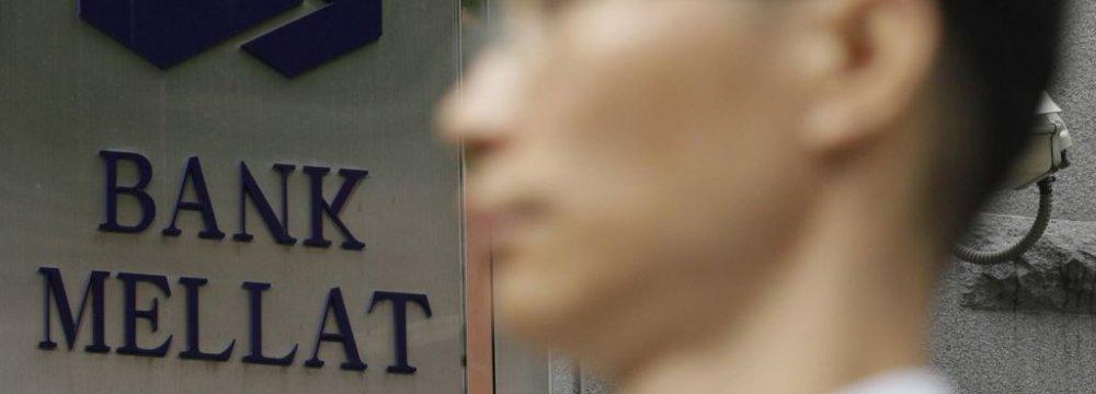Bank Mellat Resumes Seoul Business