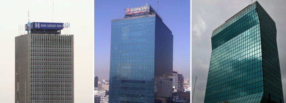 Mellat, Tejarat and Saderat are the three banks whose full privatization is expected.