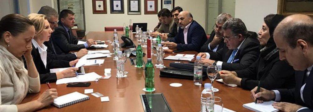 Iranian, Croatian Bankers Discuss Trade Hurdles