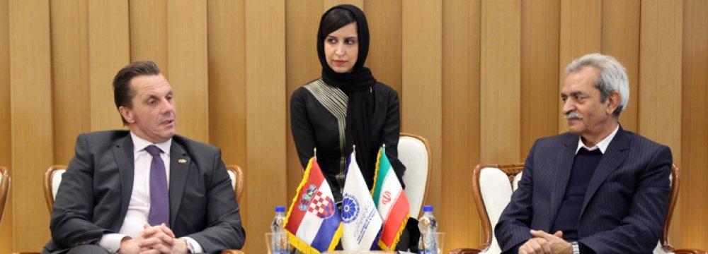 Iran to Host Croatian Banking Delegation