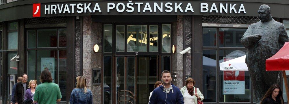 Croatia's Central Bank Keen on Iran Linkage