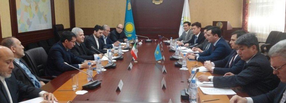 Tehran, Astana Stress Banking Cooperation