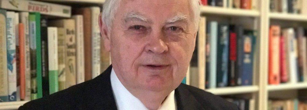 Lord Lamont, UK's trade envoy to Iran