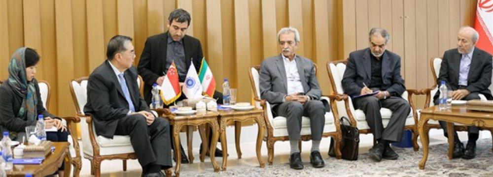 Iran, Singapore Resolving Banking Ties