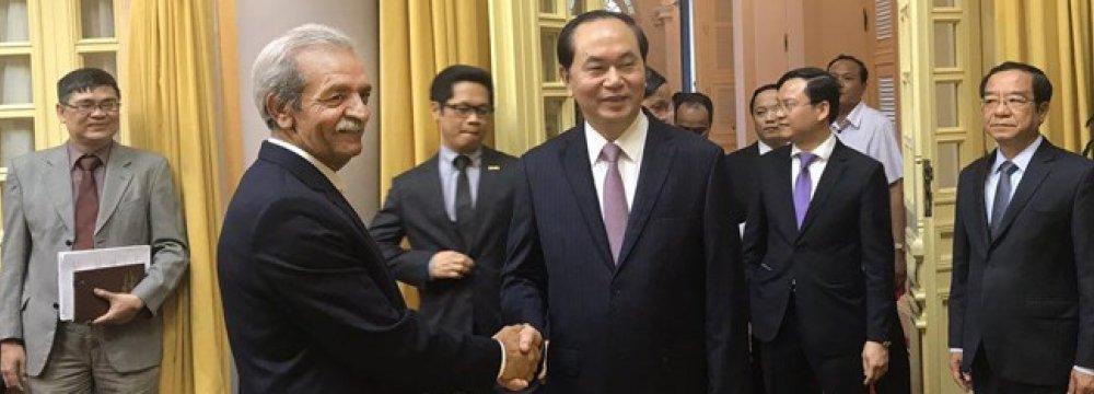 Iran, Vietnam Reset Business Targets