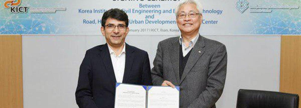 Iran, S. Korea Boost Research Cooperation