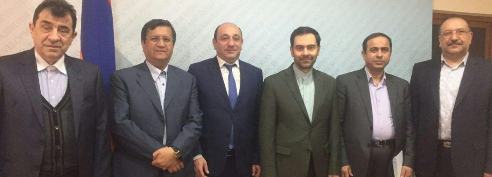 Iran, Armenia to Expand Insurance Cooperation