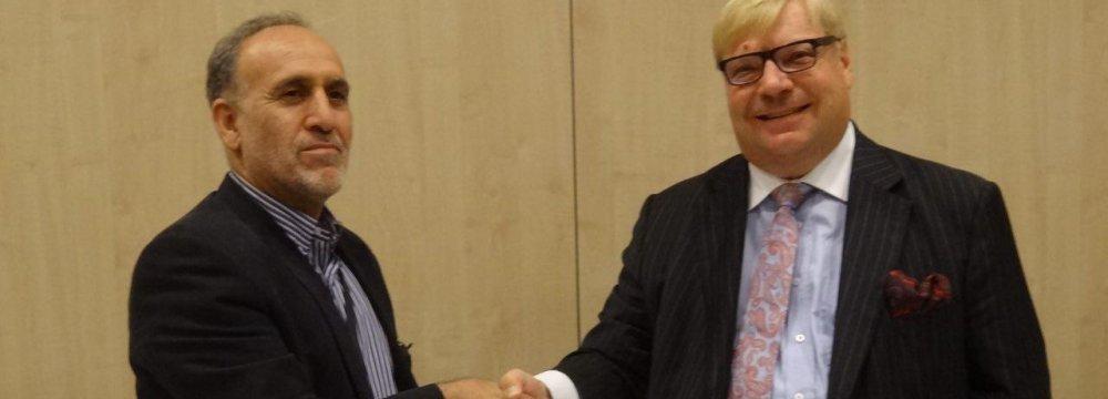 Iranian, Finnish ECAs Sign Wide-Ranging Agreement