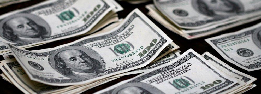 USD at  39,500 Rials