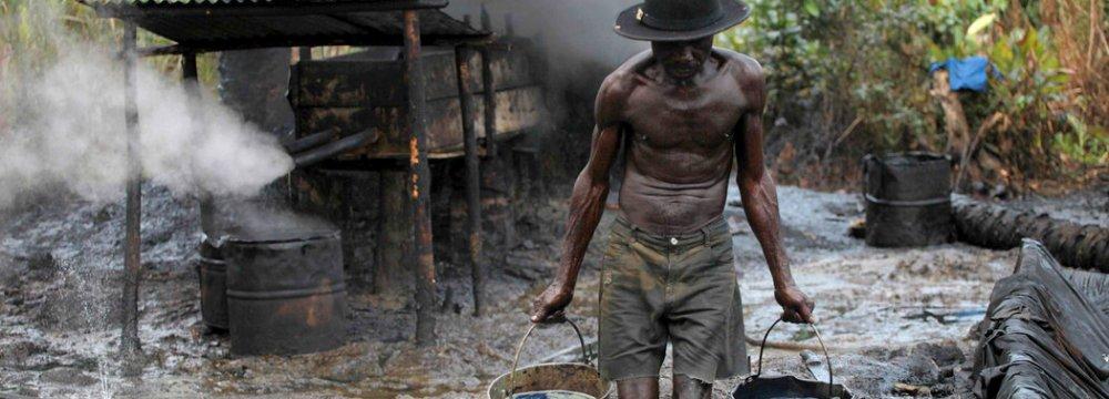 Thieves Stall Nigeria Crude Supply Via Export Terminals