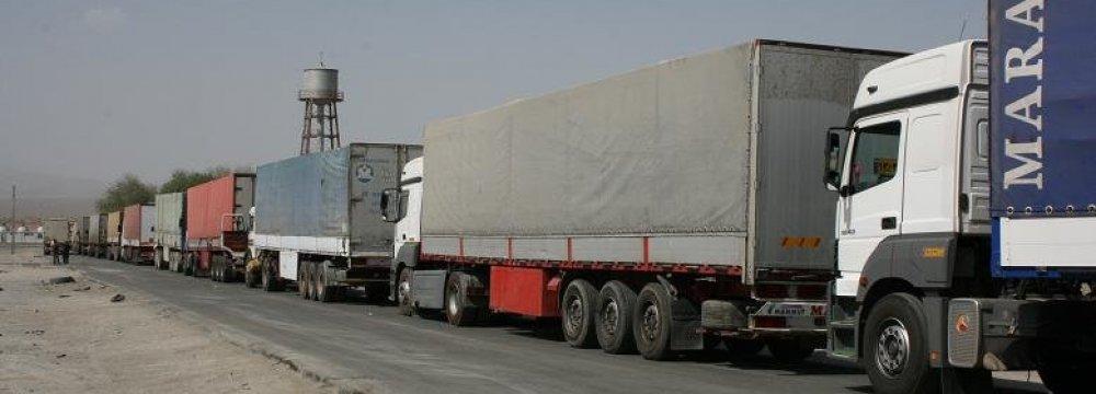 With the closure of the Turkish-Iraqi Kurdistan borders, Turkish trucks will go to Iraq via Iran.