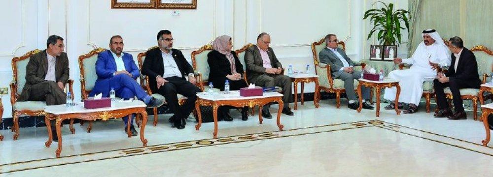 Iran, Qatar Boosting Economic Cooperation