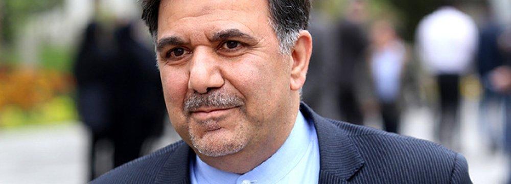 Abbas Akhoundi believes transportation in Iran needs to focus on railroads.