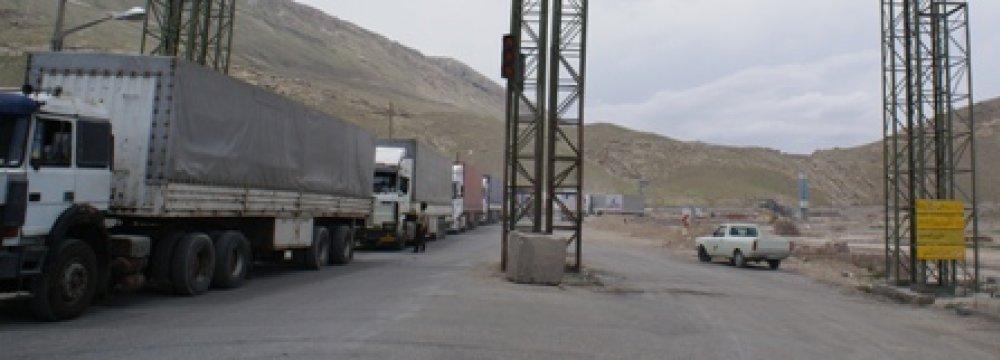 805K Tons of Goods Transit via Bazargan Border