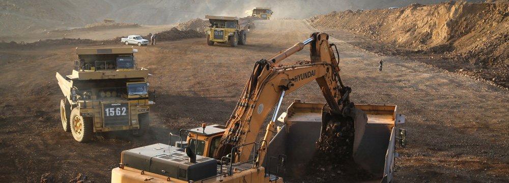Iron Ore Mining Slumps
