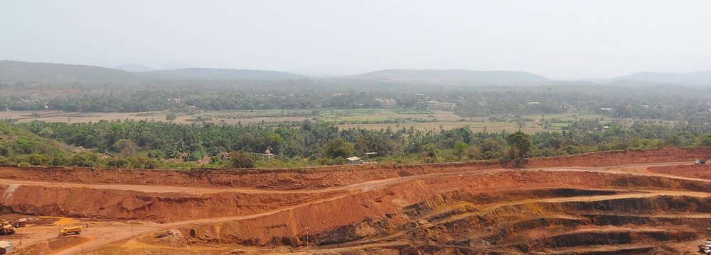 India's Supreme Court has decided that no mining activities will continue in Goa after March 15.