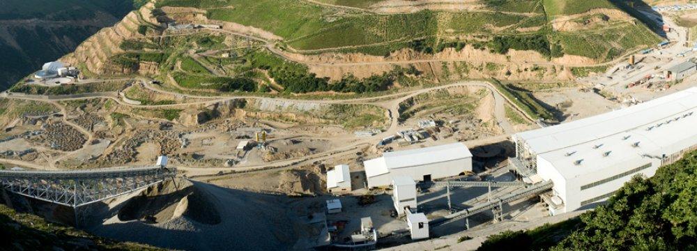 Sungun Copper Export Earns $317m