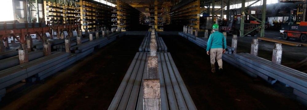 Billet, Slab Export Prices Edge Down