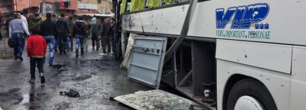 Twin Damascus Bombs Kill 46