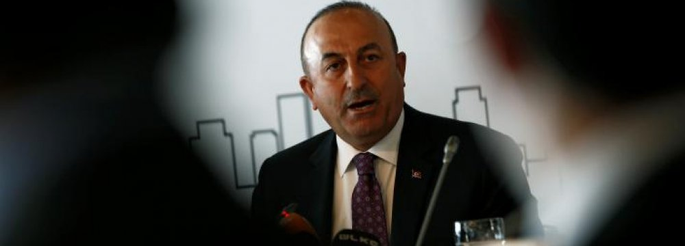 Netherlands Bars Entry of Turkish Foreign Minister