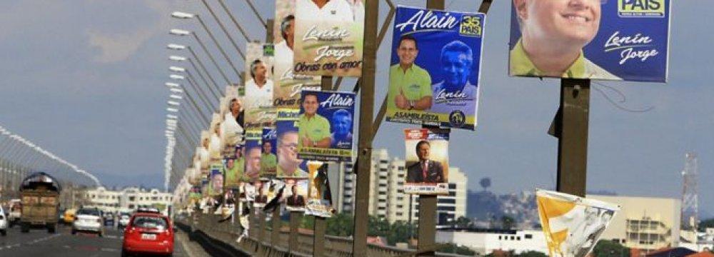 Ecuador Votes for New President