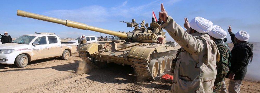 Iraqi Army Captures Key Mosul Bridge
