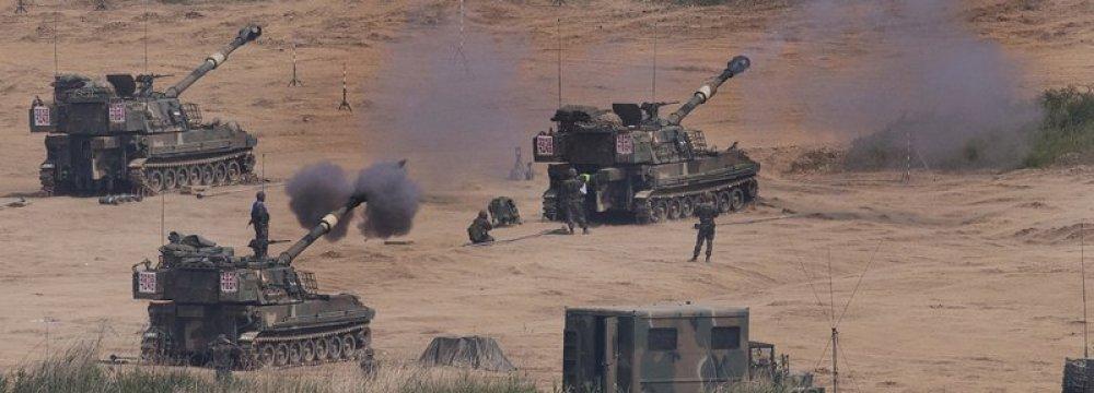 South Korea Fires Warning Shots at North Korea