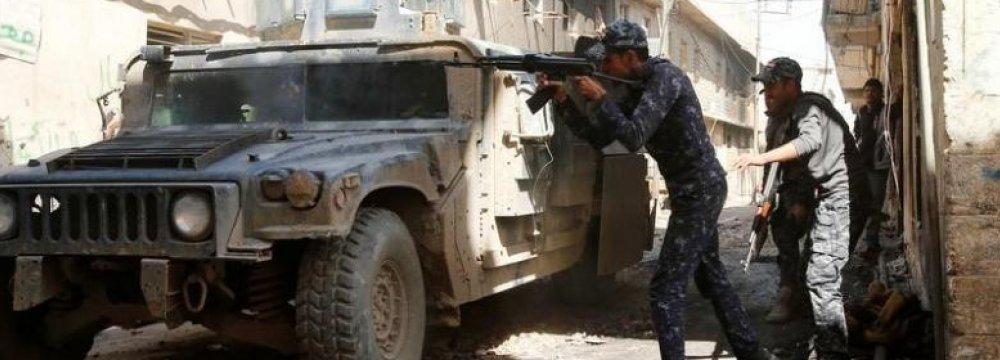 New Iraqi Push Toward Old City in Mosul