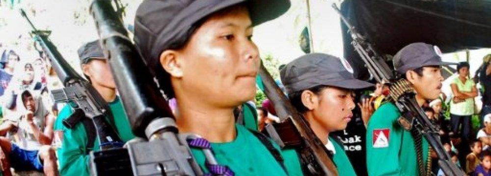 Philippine Communist Rebels End Ceasefire