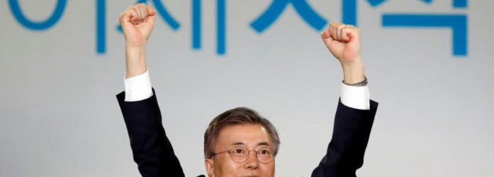 South Korea Liberal Poised to Become Next President