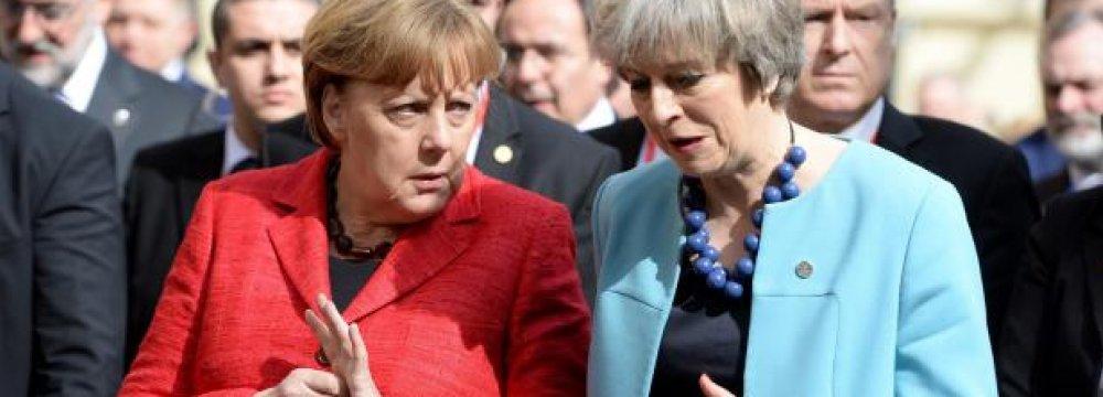 EU Summit Confronts Libya Migration, Trump