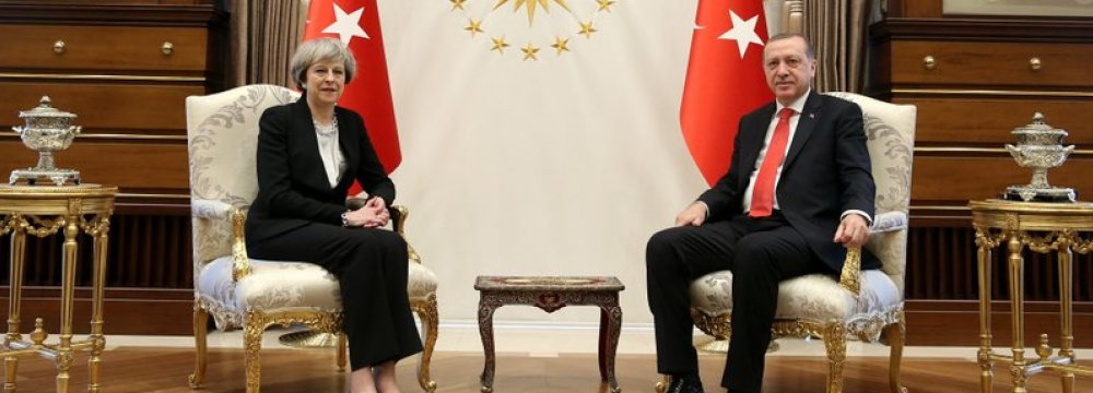 Britain Engaging With Turkey