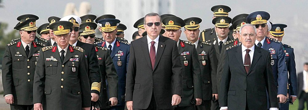 Erdogan Okays Reform Bill to Extend Presidential Power