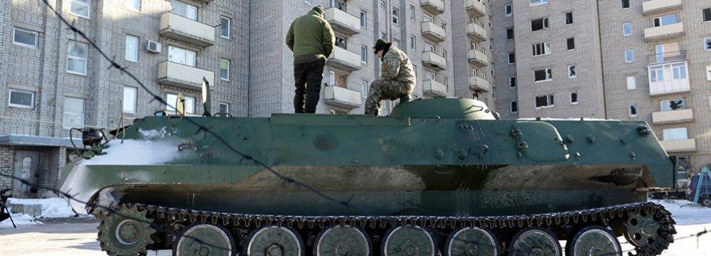 UN Urges Immediate Halt  to Hostilities in E. Ukraine