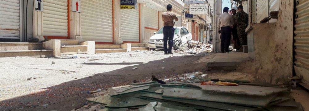 1 killed, Over 100 Injured in Masjed Soleyman Quake