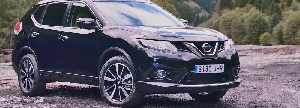 Nissan X-Trail Model  Unveiled in Tehran