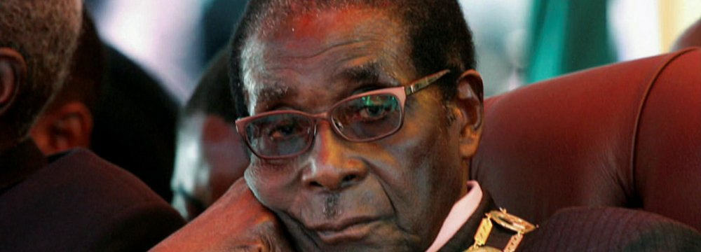 Mugabe's Four-Decade Rule Ends