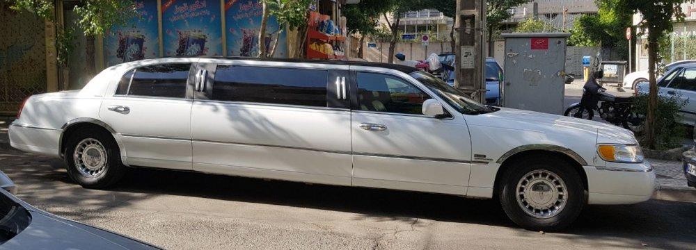 Cadillac Limousine Seen in Tehran