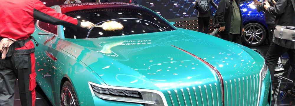 E-Jing GT electric sports car concept