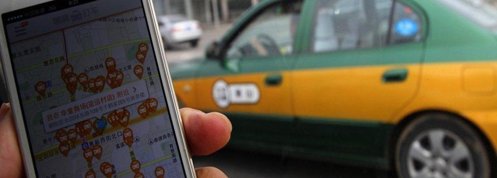 China Auto Firms to Set Up Ride-Sharing Platform