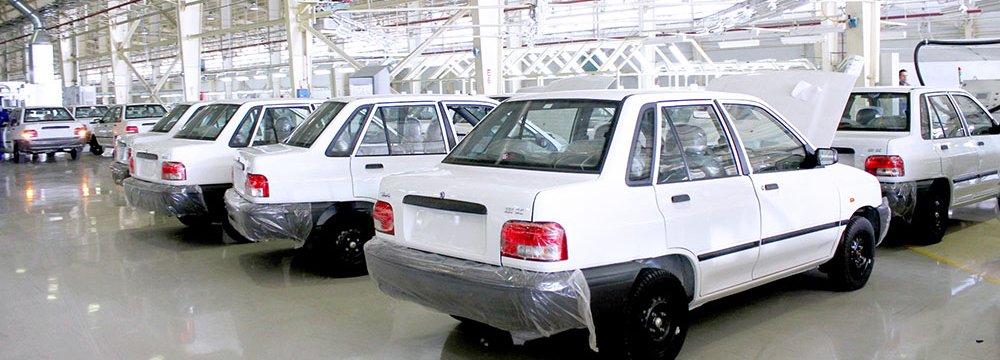 Iran Auto Companies Not Raising Prices