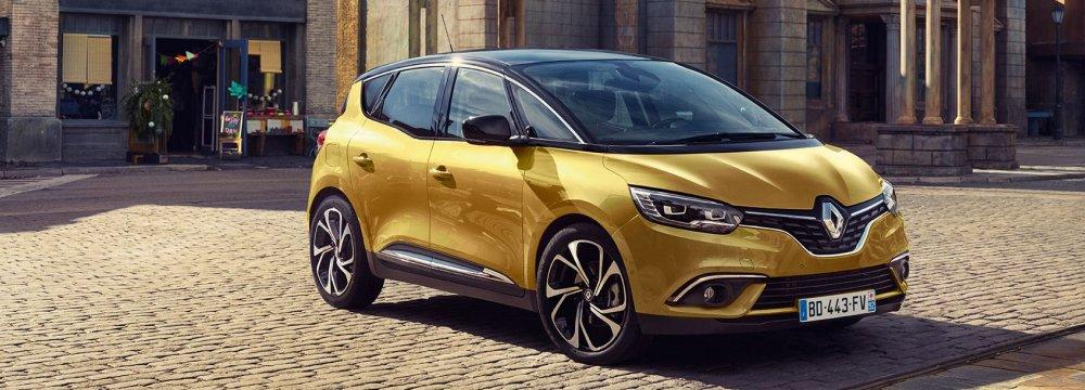 Renault Iran Sales Up 161% in Q1
