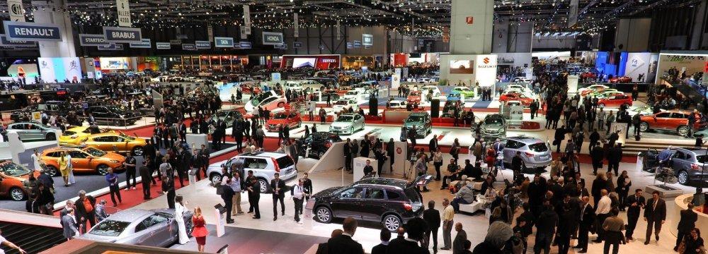 Stunning Cars at Geneva Motor Show