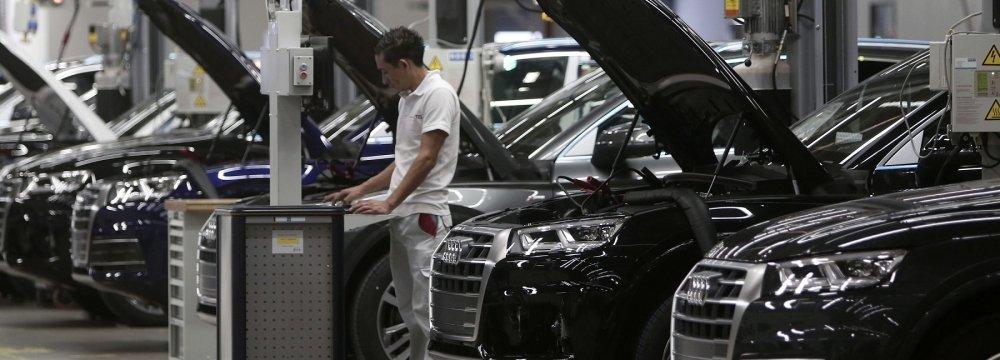 German Carmakers  Fear Trump Insinuations