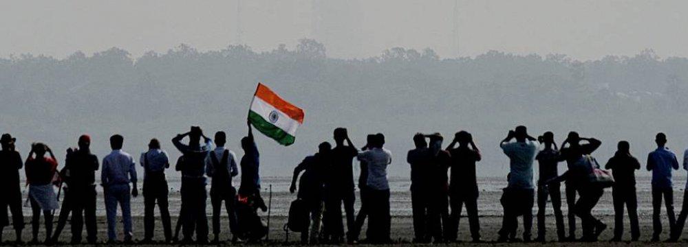 India Sends  31 Satellites Into Space