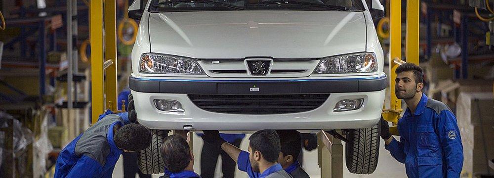 Kerman Motors has seen the biggest jump in car production.