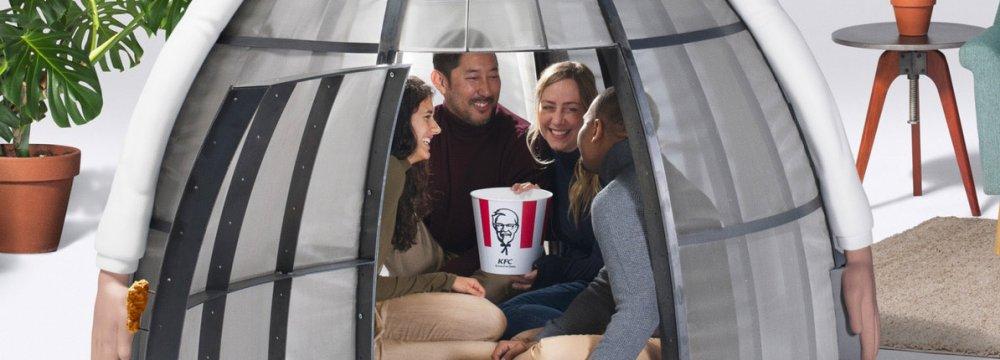 KFC Introduces 'Internet Escape Pod'